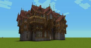 """""""Build in your Style"""" Minecraft Map & Project"""