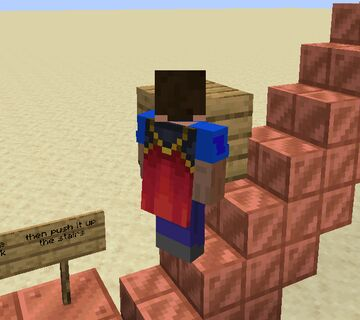 Pushable Blocks, Ghost Blocks And Void Blocks Minecraft Map & Project