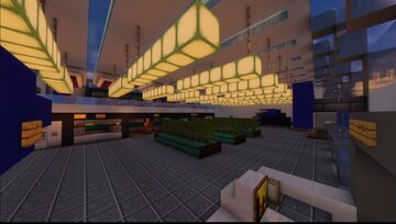 Airport Hide and seek map 1.17 Minecraft Map & Project