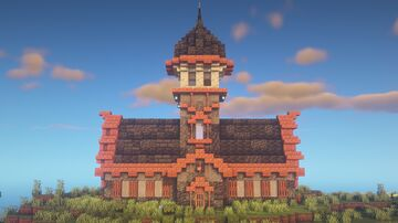 1.17 House Minecraft Map & Project