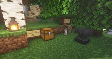 Cottagecore Cave Minecraft Map & Project