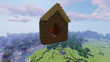 Philza's Birdhouse From Origin SMP Schematic (Litematica) Minecraft Map & Project