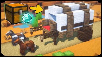 Build a Wagon Minecraft Map & Project