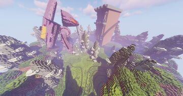PokeLands Pixelmon BugRock Gym - City - Town ( Completed Commission by Magma ) Minecraft Map & Project