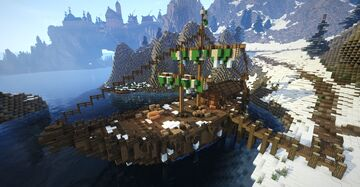Dainty Sload, ship (Skyrim TES) Minecraft Map & Project