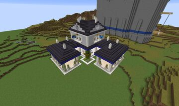 Age of Empires II - Westeuropean Town Center Minecraft Map & Project