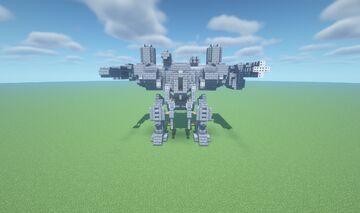 Atlas-6 War Machine (Mech) Minecraft Map & Project