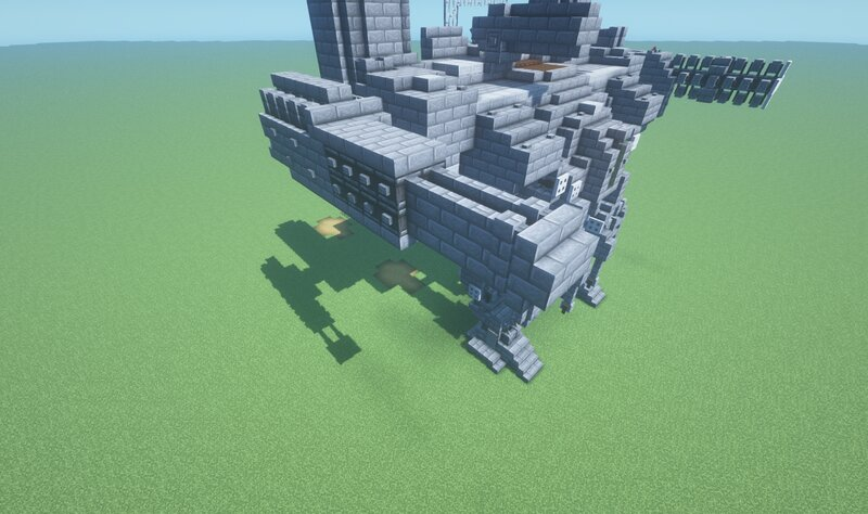 Heavy Quadruple Tank Cannon