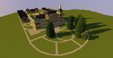 Hermesvilla, Lainzer Tiergarten, Vienna Minecraft Map & Project