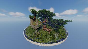 Freemap 13 - Spring Hub 🌲 Minecraft Map & Project