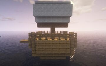 Cool medium sized boat Minecraft Map & Project