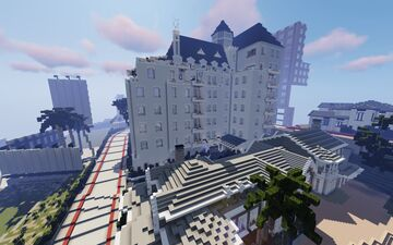Chateau Marmont Hotel Minecraft Map & Project