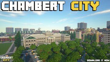 CHAMBERT CITY Minecraft Map & Project