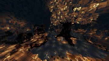 Freemap 12 - Snowy Cave Minecraft Map & Project