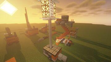 Construction Machines Bundle - [World Download] Minecraft Map & Project