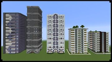 Make your own skyscraper (my first ever map) Minecraft Map & Project