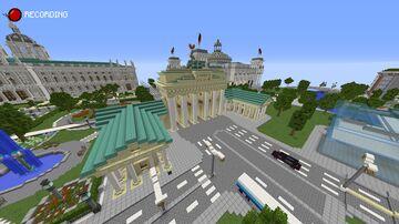 BradenBurg Gate - Berlin - Germany - Schematic Minecraft Map & Project
