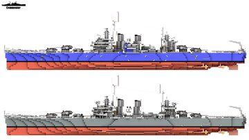 USS Philadelphia & USS Savannah 1:1 Scale Brooklyn class Minecraft Map & Project