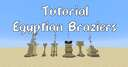 Egyptian Braziers Lighting Minecraft Map & Project