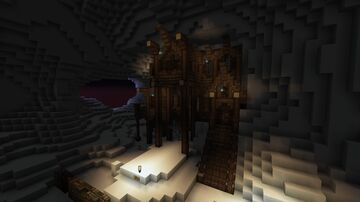 Project Zombie Underground Civilization Main House Minecraft Map & Project