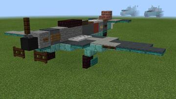 1.5:1 scale Yakovlev Yak-1 Minecraft Map & Project