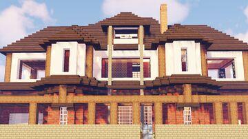 British suburban house Minecraft Map & Project