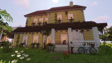 Cottagecore House Minecraft Map & Project