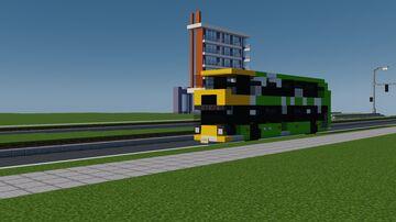 Dennis Enviro 400ER / PLA-3 Hybrid Minecraft Map & Project