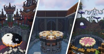 3 Sumo maps pack Minecraft Map & Project