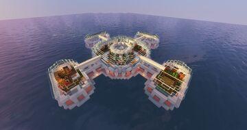 Underwater base - hacker Minecraft Map & Project