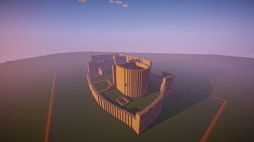 Czech Castle Krakovec Minecraft Map & Project