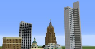 Fort Wayne (Updated) Minecraft Map & Project