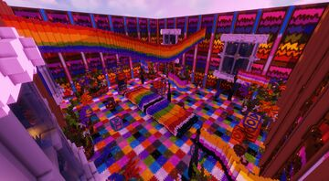 Colourful Roomdomness - Yet Another 'FBC' Contest Entry Minecraft Map & Project