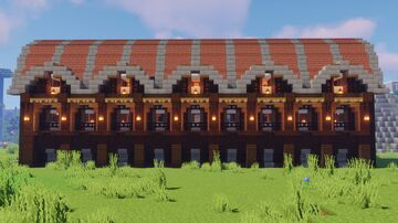 Villager Trading Hall Minecraft Map & Project