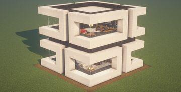 Modern House v2.0 Minecraft Map & Project