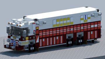 Pierce, Heavy duty rescue truck [With Download] Minecraft Map & Project