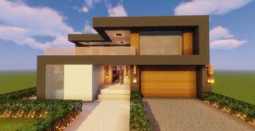 Modern House #126 (Map + Schematics) Minecraft Map & Project