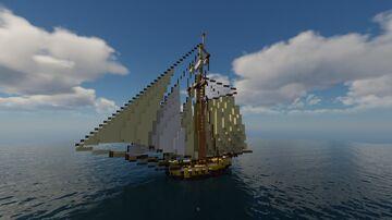 HMS Loki l 1711 Minecraft Map & Project