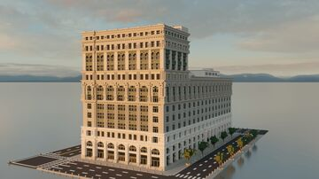 B. Hartman and Company Building | New Limesville City | NL | UCS Minecraft Map & Project