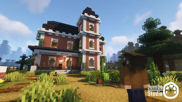 A Victorian House Minecraft Map & Project