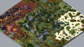 Pack small maps - WorldPaiter Minecraft Map & Project