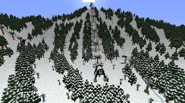 Diamond Peaks Ski Resort V2-Alpha release 1 Minecraft Map & Project