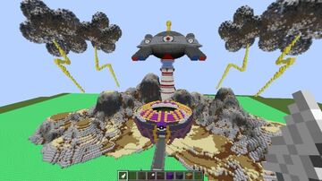 OdysseyGaming Pixelmon Electric Gym - City - Town ( Completed Commission by Magma ) Minecraft Map & Project