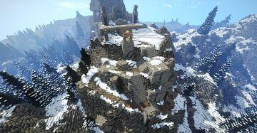 Eldersblood Peak (Skyrim TES) Minecraft Map & Project