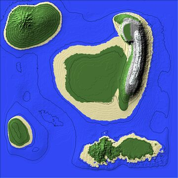 large archipelago islands [first time using world painter] Minecraft Map & Project