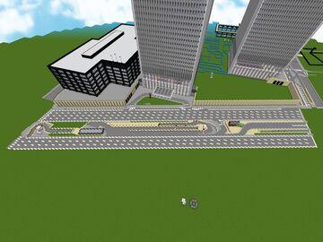 2001 World Trade Center 1:1 Minecraft Map & Project
