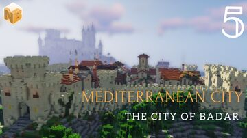 Mediterranean City of Badar #5 | Medieval World Project [Download] Minecraft Map & Project