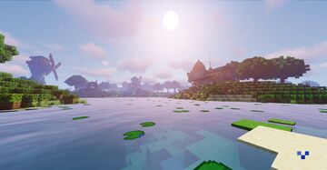 Shireville - Farm of Blissful Expansion Minecraft Map & Project