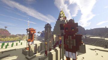 Desert Temple Minecraft Map & Project