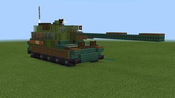 1.5:1 scale 2S35 Koalitsiya-SV and 2S35-1 Koalitsiya SV Ksh Minecraft Map & Project